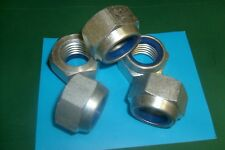 24MM M24 ZINC PLATED NYLOC LOCK NUTS QTY (5)
