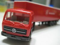 Wiking (Germany) Red/White Mercedes-Benz 1626 Sattelzug 1:87 Plastic NIB
