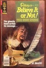 Ripley's Believe it or Not 85 comic 1979 Ghost Stories Sea Monkeys ad Gold Key