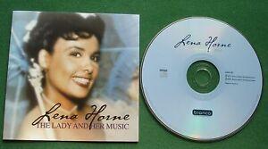 Lena Horne The Lady & Her Music inc My Blue Heaven / Honeysuckle Rose + CD