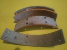 Jeu de 4 garnitures de freins 162x31x4,5 pour Panhard Dyna 3CV de 1946 à 1948
