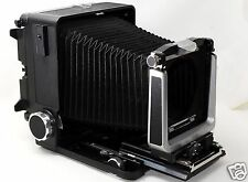 *EXC* Wista 45 N, 4x5 Format Folding Field Camera Black color From JAPAN