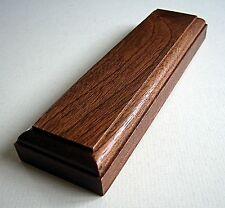 Display Plinth for Models, Trophies, Figurines,17.7 x 5 cm. MAHOGANY  (SOV1207)