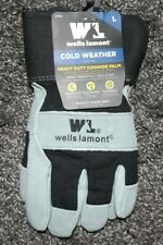 New listing Nwt Mens L wells lamont cold weather heavy duty cowhide palm work glove