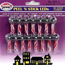 Model Power 511-1 Peel 'N Stick LEDs (Pack of 15)