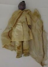 Very rare vintage doll in a costume Falash (Ethiopian Jew) 1950s Free shipping