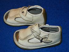 vintage VERDU SPAIN ancien SANDALES CHAUSSURES ENFANT cuir bébé KID shoes SCHUHE