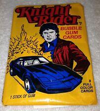 1983 Donruss KNIGHT RIDER - 2 Unopened Wax Packs