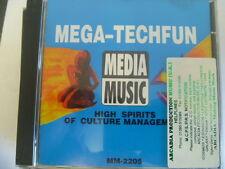 MEDIA MUSIC MEGA TECH FUN HIGH SPIRITS RARE LIBRARY SOUNDS CD