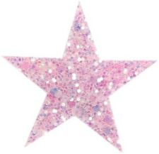 Clip de cabello estrella rosa pálido glitter patinaje artístico rsg roll arte corre baile funkengarde!