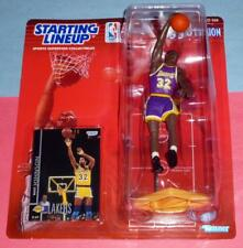 1998 MAGIC JOHNSON Los Angeles Lakers #32 - final Starting Lineup Kenner NM/MINT