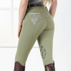 Just Togs Portabello Breeches in Sage, White or Petrol