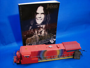 Neil Young Collection 1997 TCA Horde Tour Lionel Vision Body Shell, Lot 145