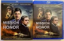 NEW MISSION OF HONOR BLU RAY + SLIPCOVER SLEEVE FREE WORLD WIDE SHIPPING BUY IT
