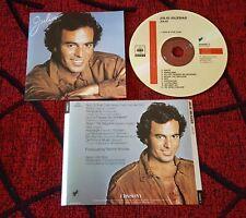JULIO IGLESIAS ** Julio ** SCARCE 1983 Spain CD ** SUNG IN FRENCH GERMAN ITALIAN