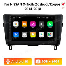 32GB Android 10.1 4G Radio GPS Car DVD Player For Nissan Qashqai Roque X-trail
