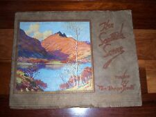 Vintage Souvenir Color Photo Album THE SCOTTISH SCENE 1940 The Glasgow Herald