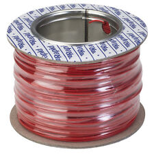 Model Railway/Railroad Layout/Point Motor Wire - 100m Roll 1/0.6mm 3A Red -T48