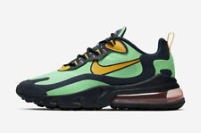 Nike Air Max 270 reaccionar AO4971-300 Verde Amarillo Negro Hombre Zapatos Deportivos Estilo De Vida