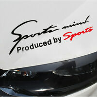 Sports Mind Logo Fit For Racing Car SUV Vinyl Reflective Decal Graphics Stickers
