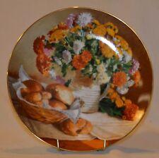 "W.S. George ""Chrysanthemums"" Plate #10907A"
