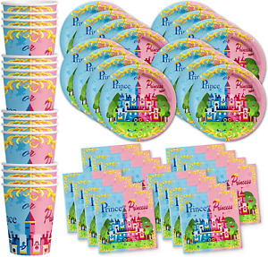 Birthday Galore Little Prince or Princess Baby Gender Reveal Party Supplies Set
