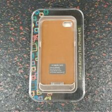 New GOLD 4000mAh External Battery Power Case For iPhone 4/4s