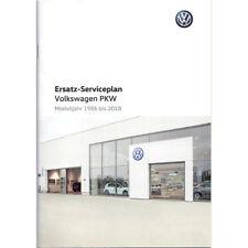 VW Serviceheft Serviceplan 1986-2018 Deutsch Scheckheft Golf Passat Polo Tiguan
