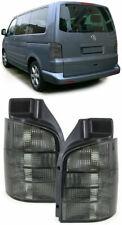 VW T5 TRANSPORTER CARAVELLE MULTIVAN ALL SMOKED REAR LIGHTS 2003-2009 TAILGATE