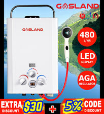 GASLAND Eco Portable Gas Hot Water Heater Camping Outdoor Instant LPG System RV