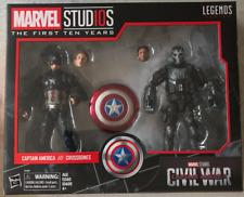 Marvel Leyendas MCU 10th aniversario Capitán América & Crossbones 2 Pack