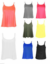 Women's Polyester Strappy, Spaghetti Strap Hip Length Tops & Shirts