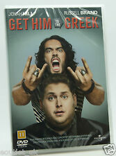 Get Him To The Greek DVD Region 2 NEW SEALED Russell Brand Jonah Hill