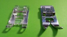 Transparent and Standard Presser Foot for nähmaschinen-pfaff,Singer,Brother,