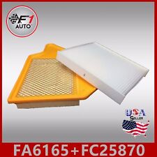 Fa6165 Fc25870 Premium Engine & Cabin Air Filter for 2011-18 Dodge Grand Caravan (Fits: Volkswagen)