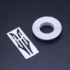 2X 12mm Black Striping Pin Stripe Double Line Tape Car Body Decal Vinyl Sticker