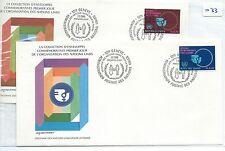 Recuento de leucocitos. - Naciones Unidas-First Day Covers Fdc - -033 - 1980-decenio para De mujer