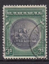 BAHAMAS. 1931. 3/- Slate Purple & Myrtle Green. SG: 132. Fine  Used.