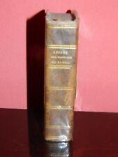RUSSIE- Adolphe RABBE: Résumé de l'histoire de Russie. 1825. Bien relié.