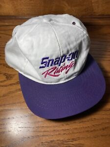 Vintage Snap On Racing Hat  Womens Snapback One Size Duel In The Desert