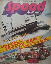 Speed & Power magazine 12 September 1975 Issue 78