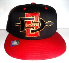 ac683b4d4 San Diego State Aztecs Adjustable Snapback Hat Embroidered Cap NCAA  Black/Red