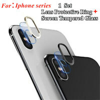 Tempered Glass Camera Lens Protector Screen Protective Film For iPhone XS MAX XR