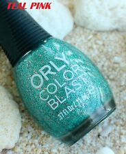 COD! ORLY COLOR BLAST CITY LIGHTS COLLECTION-LIMITED EDITION 11ML-TEAL PINK