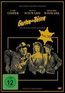 Garten des Bösen - Digipack [DVD/NEU/OVP] Gary Cooper und Richard Widmark sehen