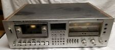 Vintage -Sharp -RT-3388 -Stereo Cassette Deck -Japan  - For Parts Or Repair-READ