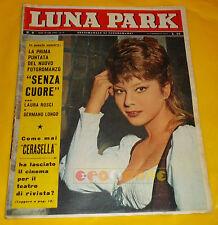 LUNA PARK 1962 n. 8 Claudia Mori, Adriano Celentano, Giovanni Ralli, Ed Byrnes