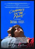 Manifesto Llámame Col Su Nombre Luca Guadagnino Timothee Chalamet Cine P04