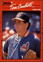 1990 Donruss Baseball Card #256 Tom Candiotti