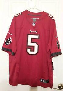 Tampa Bay Buccaneers NFL Jersey Size XXL Josh Freeman #5 Nike on Field Red NWT